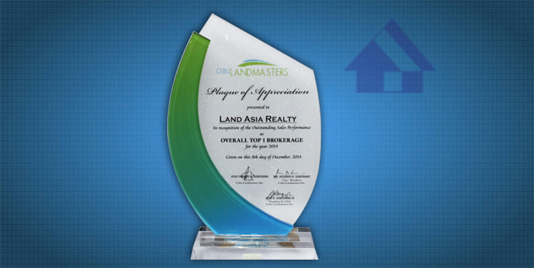 OVERALL-TOP-1-BROKERAGE-LAND-ASIA-REALTY-AND-DEVELOPMENT-CORPORATION-AWARDED-BY-Cebu-Landmasters