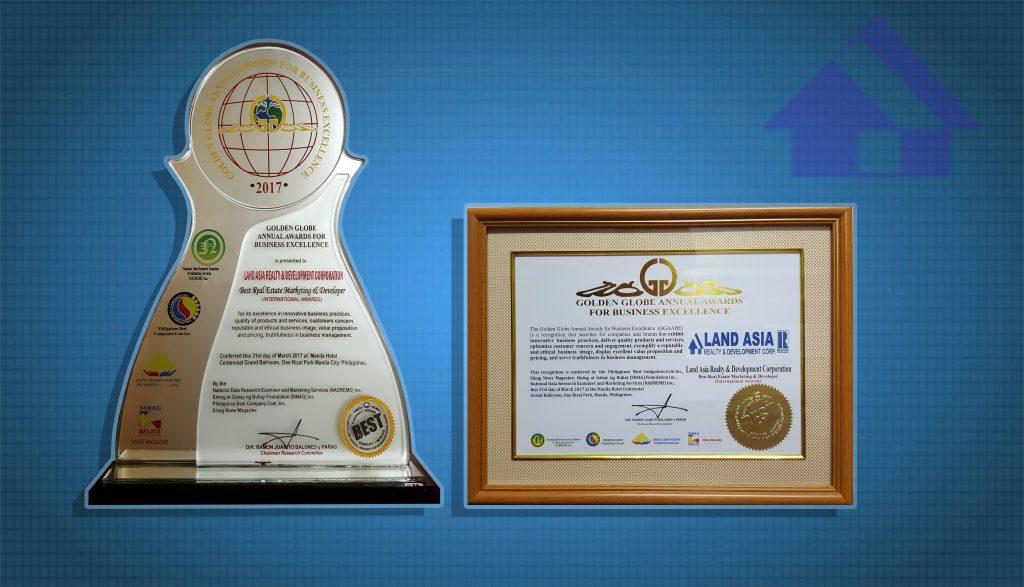Golden Globe Awards for Business Excellence LARDC1