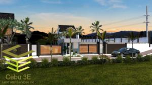 Gated Community of Cebu's Affordable Homes haven, Eden's Valley Estates.